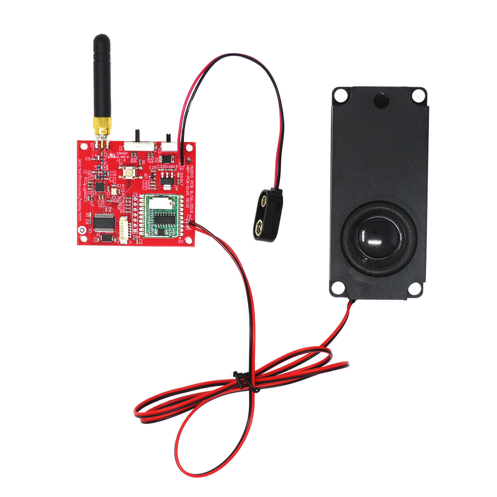 remote controlled hobby audio solution